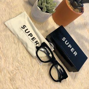 Super Ciccio Black Eyeglasses for J. Crew